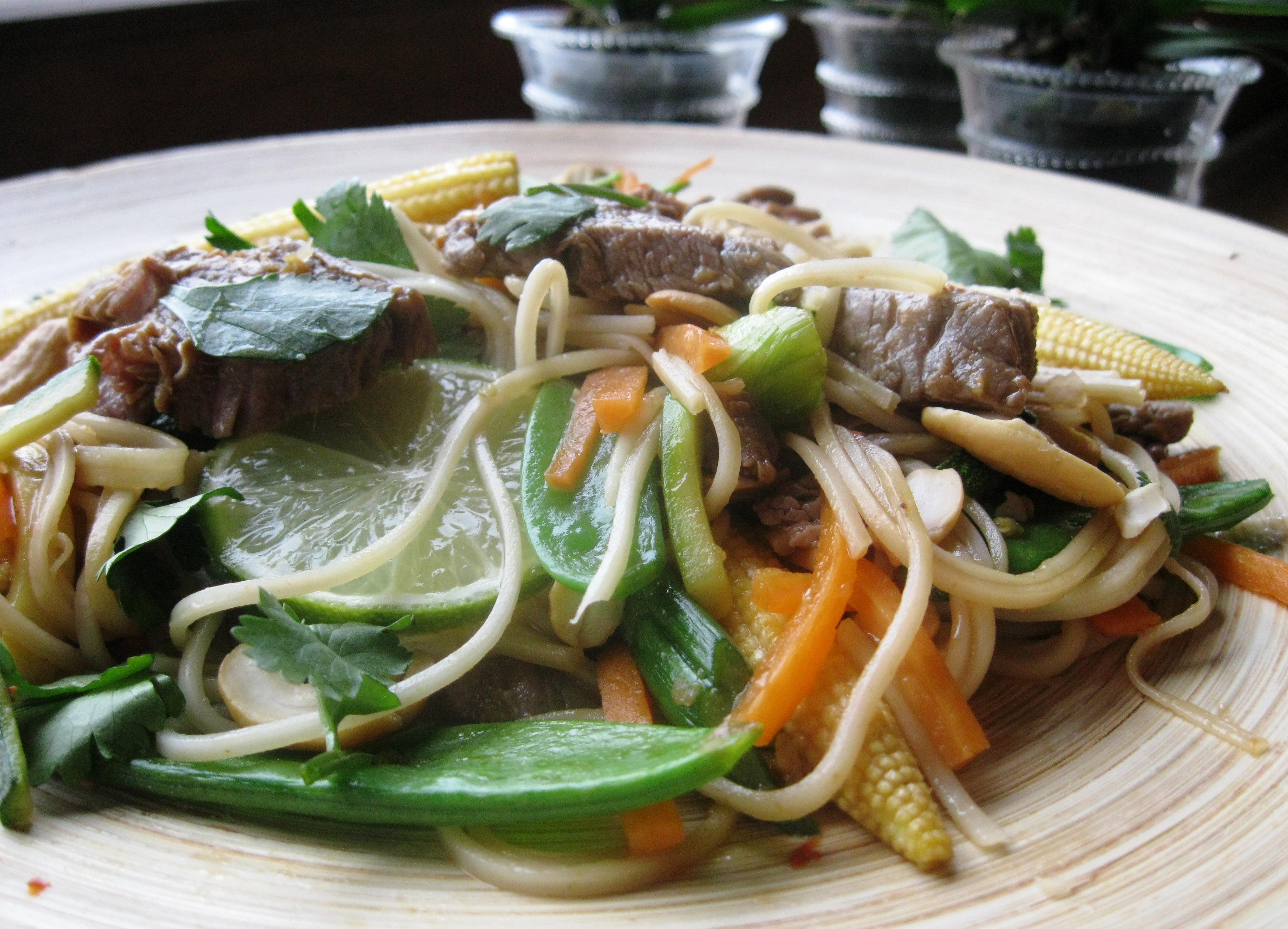 thai beef fillet stir fry